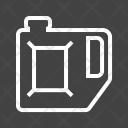 Petrol Cane Fuel Icon