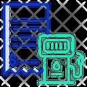Petrol Bunk Bill Icon