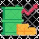 Petrol Growth Icon