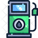 Oil Petrol Pump Fuel Station Icon