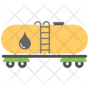 Petrol Tanker Oil Icon