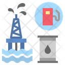 Petroleum Oil Oilfield Icon