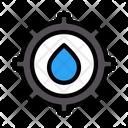Petroleum Setting Cogwheel Icon