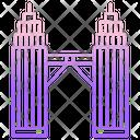Petronas Twin Tower Icon