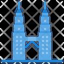 Petronas Twin Tower Malaysia Monument Icon
