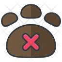 Pets Prohibited Not Icon