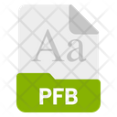 Pfb file Icon