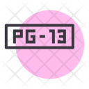 Pg Parental Guidance Icon