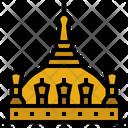 Pha That Luang Temple Pha That Luang Laos Icon