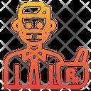 Phamacist Medical Man Icon