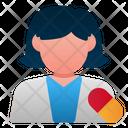 Pharmacist Female Avatar Icon