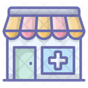 Pharmacy Medical Center Health Clinic Icon