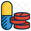 Pharmacy Drugs Tablet Icon