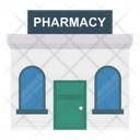 Building Pharmacy Clinic Icon