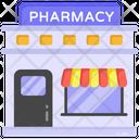 Drugstore Pharmacy Pharmaceutics Store Icon