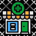 Pharmacy Medical Drugstore Icon