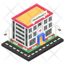 Pharmacy Building Icon