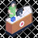 Pharmacy Reception Icon