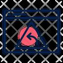 Pharming Redirect Webpage Icon