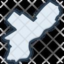 Philadelphia Landmark Border Icon