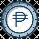 Philipine Peso Peso Coin Currency Icon
