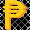 Philippine Peso Gold Icon