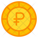 Philippine Peso Coin Currency Icon