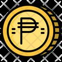 Philippine Peso Cash Coin Icon