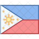 Philippines Flag Country Icon