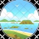Phillip island Icon