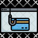 Phishing Credit Card Icon