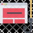 Phishing Site Data Icon