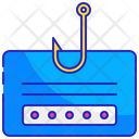 Internet Data Attack Icon