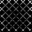 Internet Data Attack Icon