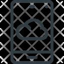 Phone Cloud Computing Icon