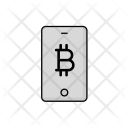 Phone Bitcoin Cash Icon