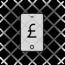 Phone Pound Cash Icon