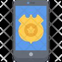 Phone Policeman Call Icon