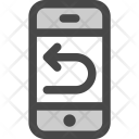 Phone Repeat Back Icon