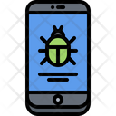 Mobile bug Icon