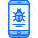 Phone Virus Bug Icon