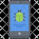 Phone Virus Bug Icon