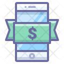 Phone Doller Mobile Icon