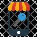 Access Phone Key Icon