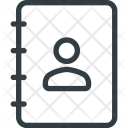 Phone Office Notebook Icon