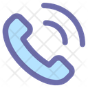 Phone Call Communication Icon