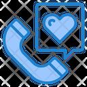 Phone Call Valentine Icon
