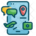 Phone Travel Smart Icon