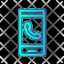 Phone Calling Smarthphone Icon