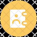 Phone Directory Yellow Icon